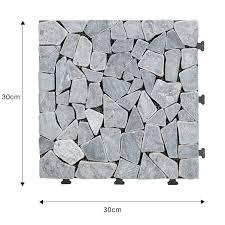 natural travertine stone decking floor
