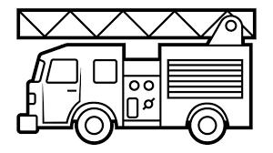 80+ Tranh tô màu xe cứu hỏa, chữa cháy đẹp cho các bé