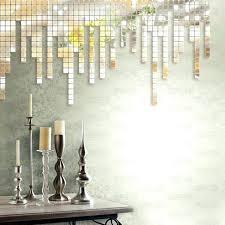 mirror tiles in interior design