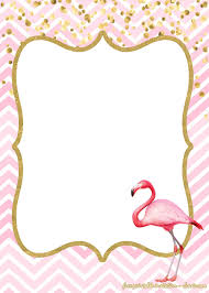 16 Free Flamingo Invitations Templates Downloadable For Any
