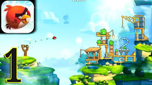 ANGRY BIRDS 2 - gameplay walkthrough 2020 part 1 (Android) - YouTube