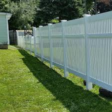 Weatherables 4 In X 4 In X 8 Ft White Vinyl Fence Blank Post Lwpt Blank 4x96 The Home Depot