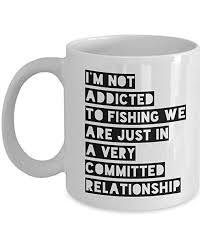 kukuzcoq fishing mug coffee cup oz ceramic fish mug unique