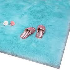 huahoo faux fur sheepskin rug tiffany