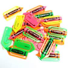36 Piezas De Clip De Papel De Crayon Vintage Dijes Joyeria Fiesta De Cumpleanos Favor De Pinata Bolsa De Relleno Loot Mordaza Taza Decoracion De Pastel Aliexpress