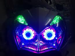 Vua bán độ bóng đèn led pha xe máy siêu sáng giá rẻ tphcm