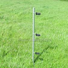 Steel Corner Post For Electric Fence