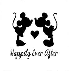 Mickey And Minnie Mouse Disney Car Vinyl Stickers High Quality Decals