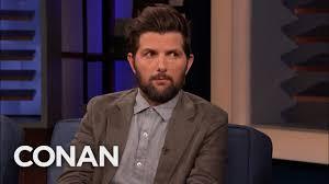 Adam Scott Always Looks Pissed - CONAN on TBS - YouTube