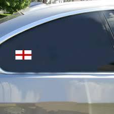 Flag Of England Sticker U S Custom Tees