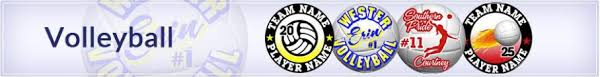 Volleyball Car Decals And Magnets All Sport Designs Www Allsportdesigns Com