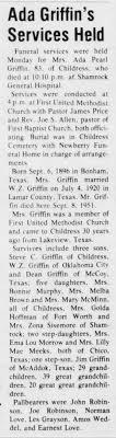 Ada Griffin obit - Newspapers.com