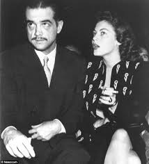 Howard Hughes punched Ava Gardner in the face so she smashed an onyx  ashtray over his head | Daily Mail Online