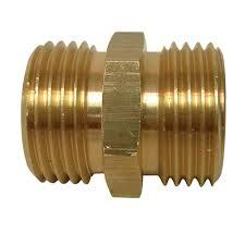 lead free brass garden hose coupling
