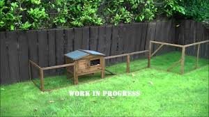 Expanded Outdoor Rabbit Playpen Youtube