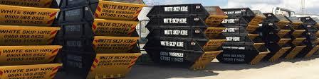 Skip Hire RM3 - 020 8595 1388 - White Skip Hire