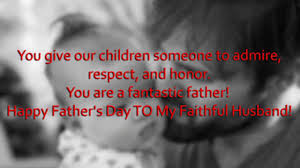 happy father s day messages quotes from wife to husband