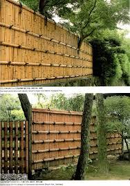 Simple Solid Bamboo Fence Bamboo Fence Bamboo Garden Fences Bamboo Garden