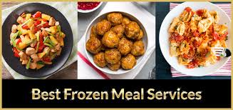 frozen meal and food delivery services