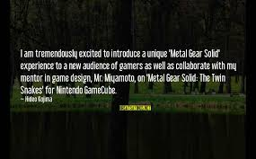 metal gear solid best quotes top famous sayings about metal