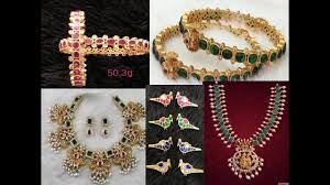 gold jewellery collections with silver