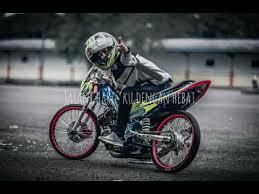 story wa versi sepeda motor drag race