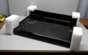 frigidaire kenmore range glass cooktop