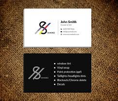 Bold Serious Automotive Business Card Design For A Company By Musa A Design 22696780
