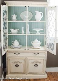 5 ways to makeover your china cabinet