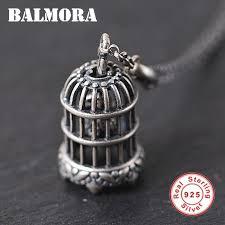 balmora 925 sterling silver birdcage