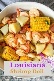 Louisiana Boiled Shrimp