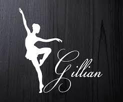 Vinyl Decal Dance Mom Dancer Ballet Ballerina Car Laptop Sticker Decal