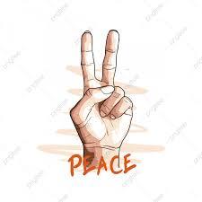 يد في توقيع السلام مع فرش خلفيات نقل مزدوج سلام Png والمتجهات