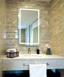 led lighted bathroom mirrors smart