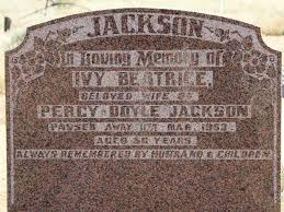 Ivy Beatrice Jackson (Wynter) (1896 - 1953) - Genealogy