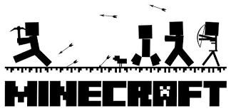 Minecraft Escape Wall Sticker 34 X73 Contemporary Wall Decals By Masquevinilo