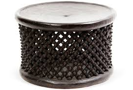 african drum table alpine home