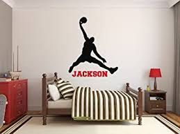 Amazon Com Custom Basketball Name Wall Decals Boy Kids Room Decor Nursery Wall Decals Player Wall Decor Sticker Baby