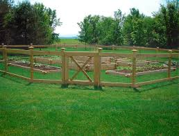 Garden Fence Ideas That Truly Creative Inspiring And Low Cost Diy Cheap Vegetable Pvc D Post And Rail Fence Fenced Vegetable Garden Backyard Fences