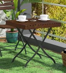 mexico solid wood patio table in