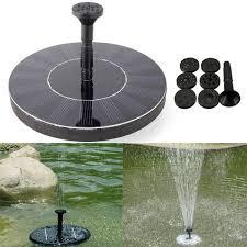 solar power fountain pump