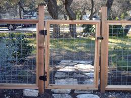 Bull Wire Fencing With Cedar Frame Yelp Fence Design Hog Wire Fence Backyard Fences