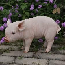 outdoor pig statues wayfair