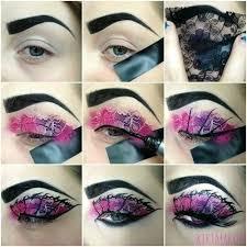 makeup punk alternative goth emo