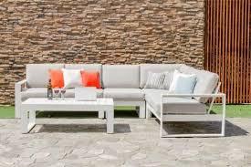 metal sofa set by maze rattan garden