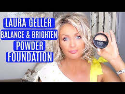 laura geller balance brighten powder
