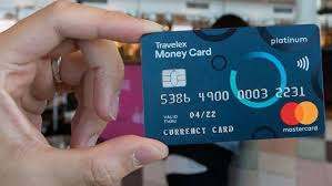 pre paid travel currency card