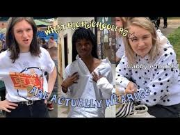 what highschoolers are ACTUALLY wearing (FT. ABBY EDWARDS & $1900+ OUTFIT)  - YouTube