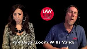 are legal zoom wills valid you