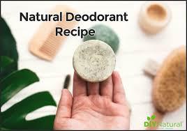 natural deodorant recipe a solid